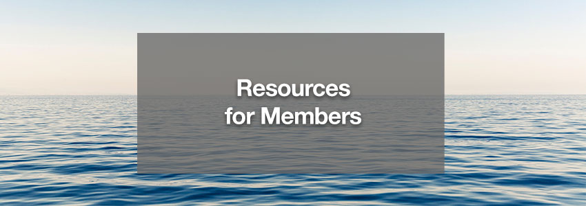 Resources for Members